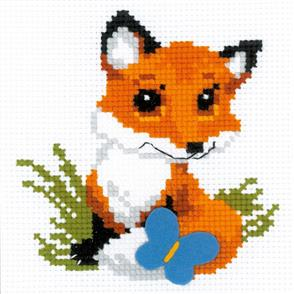 Riolis  Little Fox - Cross Stitch Kit