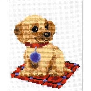 Riolis  Puppy - Cross Stitch Kit
