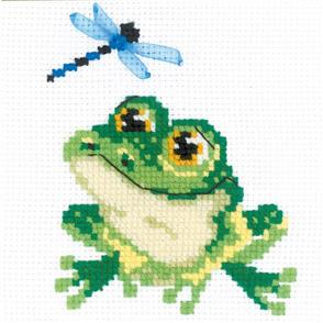 Riolis  Little Frog - Cross Stitch Kit