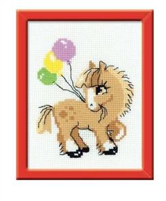 Riolis  Pony Crony - Cross Stitch Kit