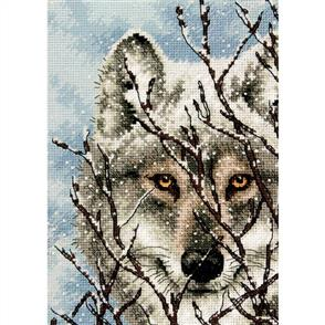 Dimensions  Wolf  Counted Cross Stitch Kit