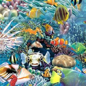 QT Fabrics  - Under The Sea 27711 -B