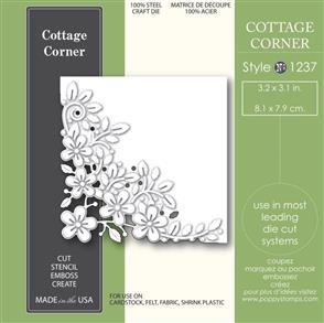 Poppystamps  Die - Cottage Corner