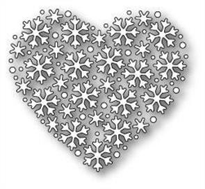 Memory Box  Die - Snowflake Heart