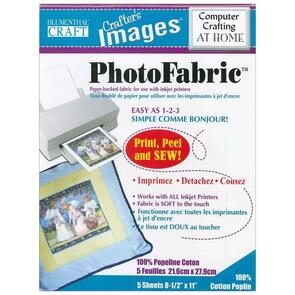 Blumenthal Crafts Photo Fabric - Sew on Printer Fabric (Cotton)