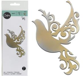 Sizzix  Thinlits Die - Delicate Wings - Dove