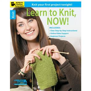 Leisure Arts  Learn To Knit, Now!