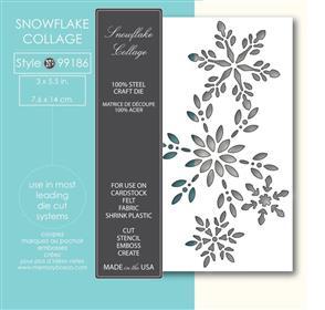 Memory Box  Die - Snowflake Collage