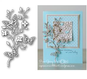 Memory Box  Die - Kensington Branch - Butterflies