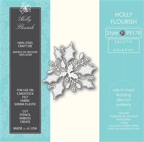 Memory Box  Die - Holly Flourish