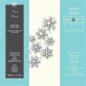 Memory Box  Die - Snow Burst