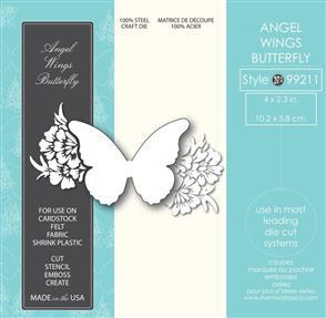 Memory Box  Die - Angel Wings Butterfly