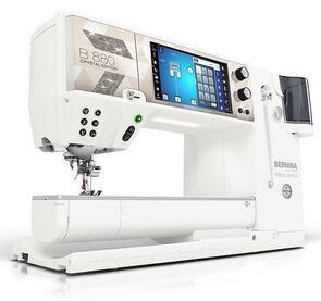 Bernina 880 Plus Sewing Machine - Crystal Edition Bundle