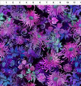 In the Beginning Fabrics  Floragraphix V by Jason Yenter - 2FGE-2