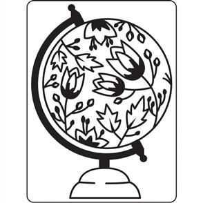Darice  Embossing Folder - Globe