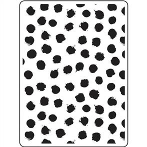Darice  Embossing Folder - Blot Dot