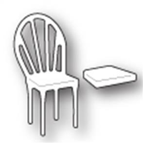 Poppystamps  Die - Left Bistro Chair