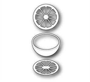 Memory Box  Small Citrus Round - Die - Fruit