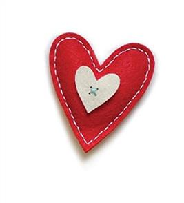 Memory Box  Plush Bright Heart - Dies
