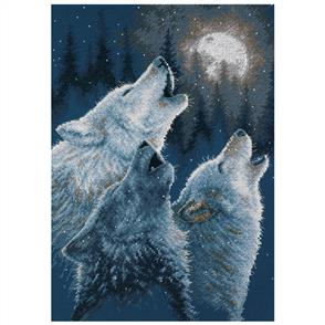 Dimensions  In Harmony - Wolves  Cross Stitch Kit