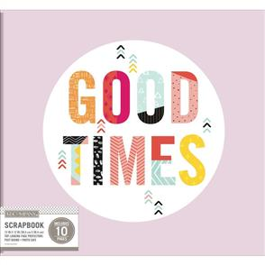 "K&Company  Phrase Scrapbook Album 12""X12"" Good Times"