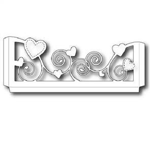 Memory Box  Die - Heart Sleeve
