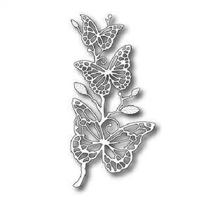 Memory Box  Die - Colette Butterfly Branch