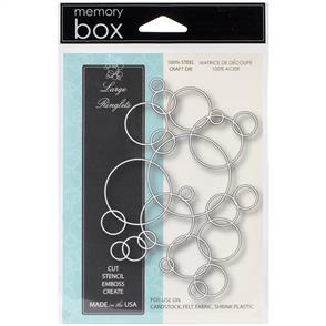 Memory Box  Die - Large Ringlets