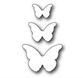 Memory Box  Die - Cascadia Butterfly Trio