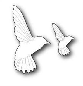 Memory Box  Die - Forest Hummingbirds