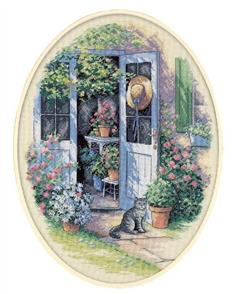 Dimensions  Garden Door - Cross Stitch Kit
