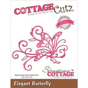 Cottage Cutz Die - Elegant Butterfly