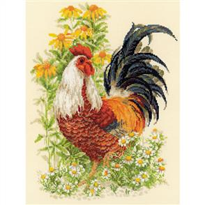 Riolis  Rooster - Cross Stitch Kit