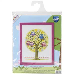 Vervaco  Little Owls Tree - Cross Stitch Kit