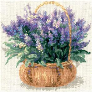 Riolis  French Lavender - Cross Stitch Kit