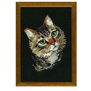 Riolis  Cat - Cross Stitch Kit