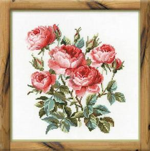 Riolis  Garden Roses - Cross Stitch Kit