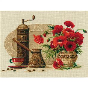 Riolis  Coffee - Cross Stitch Kit
