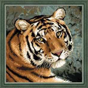 Riolis  Siberian Tiger - Cross Stitch Kit