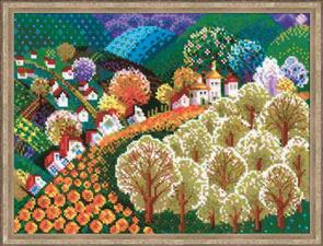 Riolis  Valley of Fairytale - Cross Stitch Kit
