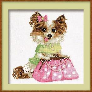 Riolis  Chihuahua - Cross Stitch Kit