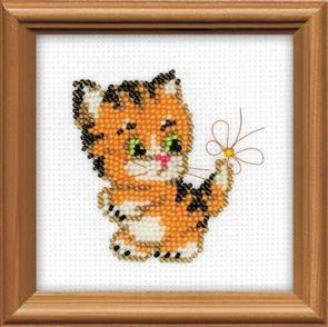 Riolis  Ginger - Beaded Cross Stitch Kit