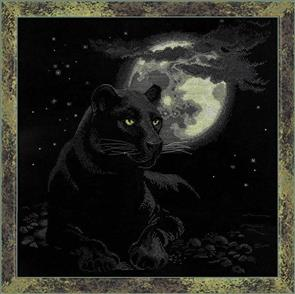 Riolis  Full Moon - Cross Stitch Kit Premium
