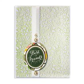 Spellbinders  Embossing Folder - Flowers & Leaves