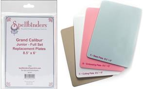 Spellbinders Grand Calibur Junior Full Set Replacement Plates