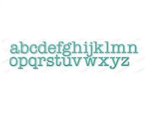 Impression Obsession  Dies  - Typewriter Alphabet