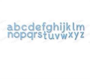 Impression Obsession  Dies - Alphabet Plain LC