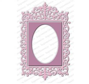 Impression Obsession  Dies - Ornate Rectangle Frame