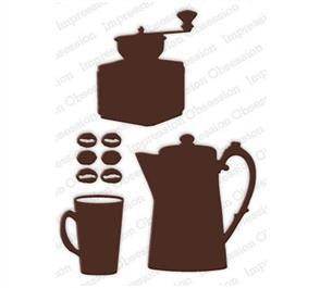 Impression Obsession  Dies - Coffee Set