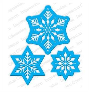 Impression Obsession  Dies - Snowflakes Cutout